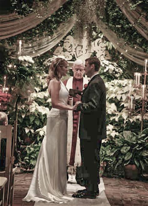 conservatory garden wedding