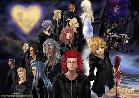 Kingdom Hearts Ii By Eeriefaery On Deviantart