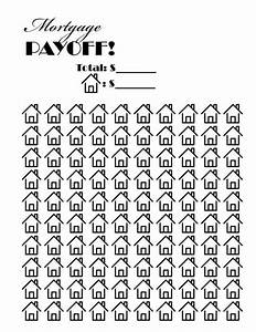 Mortgage Payoff Chart Mortgage Payoff Tracker Great Way To Keep Yourself