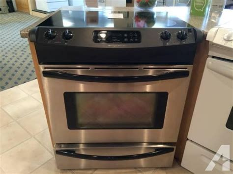 frigidaire stainless smooth glass   range stove