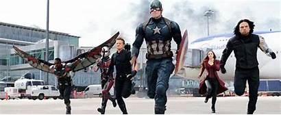 Civil Captain War America Marvel Hawkeye Avengers