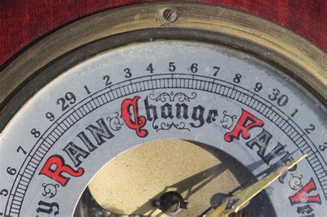 west germany vintage swift barometer working weather gauge