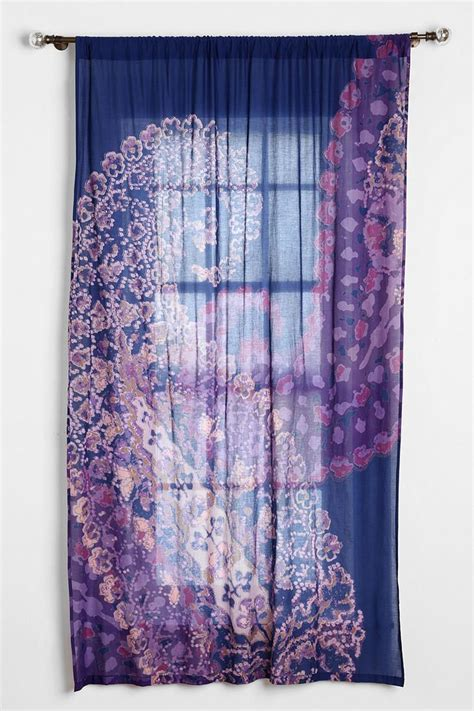 paisley curtains magical thinking fire paisley curtain