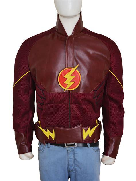 grant gustin  flash barry allen superhero jacket