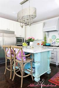 white kitchen reveal 5l addison39s wonderland With kitchen colors with white cabinets with michael kors stickers