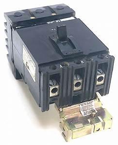 Square D Fab36090 3 Pole 90 Amp 600 Vac Circuit Breaker