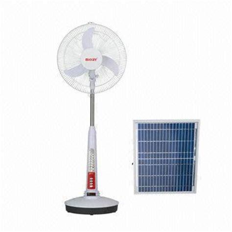 16 inch battery operated fan 16 inch rechargeable emergency fan solar fan global sources
