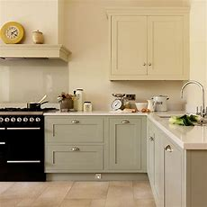 Shakerstyle Kitchen With Handpainted Cabinetry  Kitchen