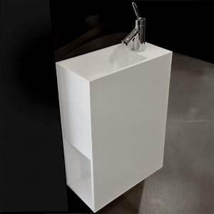 33 best meubles salle de bains images on pinterest for Salle de bain design avec lavabo 50 x 40