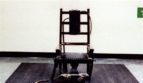 chaise de electrique edison aurait pu être l inventeur de la chaise