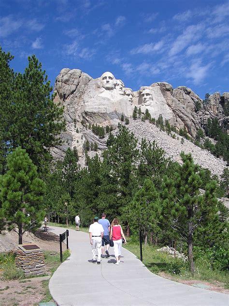 trail presidential rushmore mount things park national visitors memorial moru