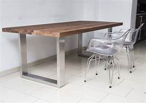 Eiche Massiv Tisch : tisch eiche massiv esstisch metall tischbeine tische esstische couchtische beistelltische ~ Eleganceandgraceweddings.com Haus und Dekorationen
