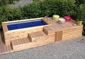 Petite Piscine Hors Sol Bois : infos sur petite piscine bois hors sol rectangulaire ~ Premium-room.com Idées de Décoration