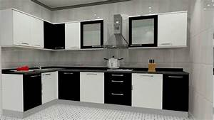 small l shaped modular kitchen designs youtube With l type small kitchen design