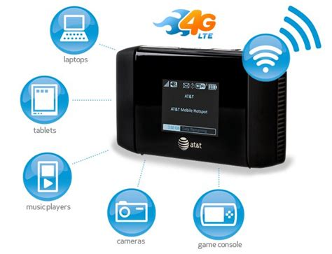 att hotspot iphone lte enabled mobile broadband devices from at t are