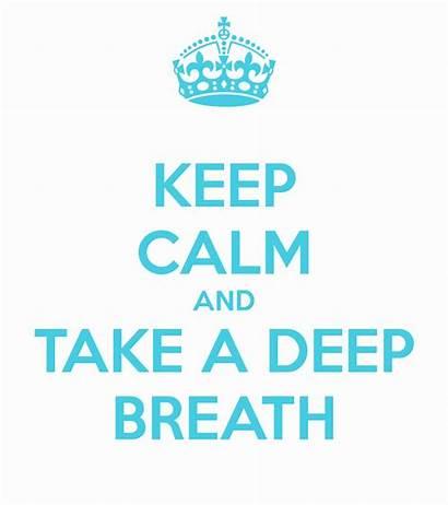 Clipart Breath Deep Take Clip Breathe Calm