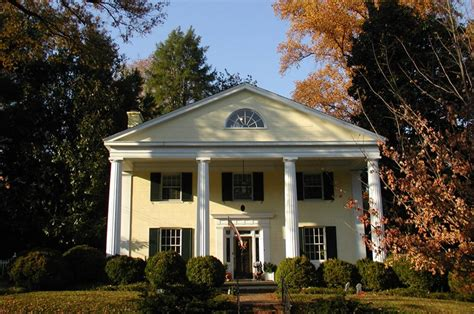 Greek Revival Houses & Architecture Facts And History