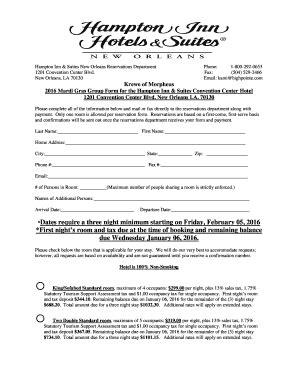 hampton inn suites credit card authorization form