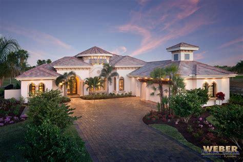 Mediterranean House Plan Luxury 1 Story Home Floor Plan