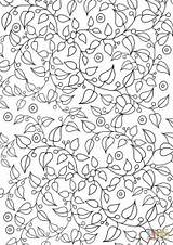 Coloring Pages Pattern Floral Printable sketch template