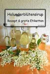 Etiketten Selber Machen : printable holunderbl tensirup etiketten herz kiste ~ Michelbontemps.com Haus und Dekorationen