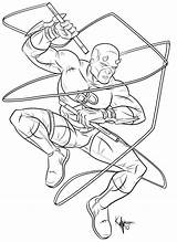 Daredevil Coloring Pages Kaufee Marvel Printable Popular Deviantart Print Coloringhome Getcolorings Colorings sketch template