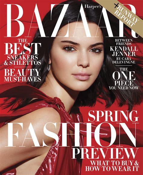 Kendall Jenner Lands Third Harper's Bazaar Cover