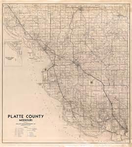 Platte County Missouri Map