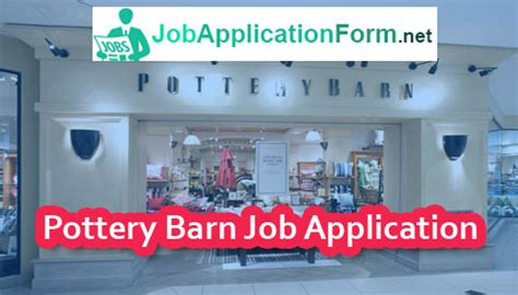 Pottery Barn Salary by Pottery Barn Application Pdf 2019 Careers How