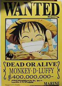 Luffy Wanted Poster New World