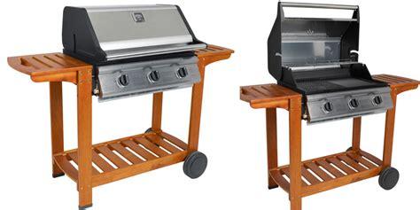 riviera cook in garden barbecue gaz grill et plancha