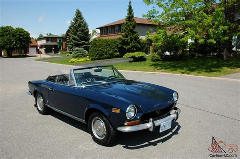 1974 fiat 124 spider convertible great summer car
