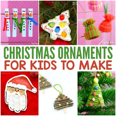 christmas ornaments  kids   easy peasy  fun