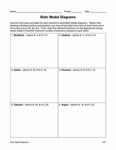 12 Best Images Of Label An Atom Worksheet