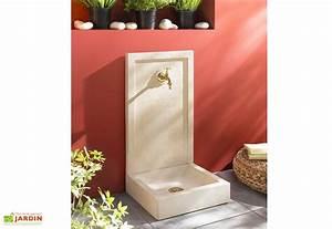 Fontaine D Exterieur En Pierre : fontaine de jardin pierre vieille savane en b ton alkern ~ Premium-room.com Idées de Décoration