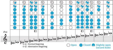 descant recorder fingering chart toplayalongcom