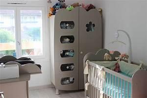 Ma Chambre D Enfant Com : chambre b b compl te lin a lin et sable avec lit barreaux ~ Melissatoandfro.com Idées de Décoration