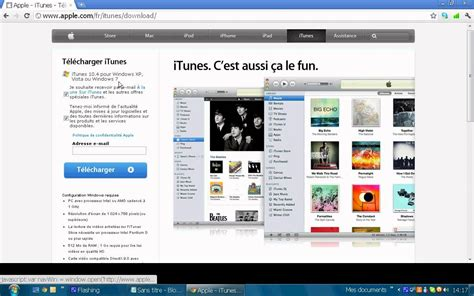 comment telecharger itunes sur pc