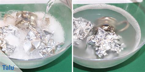 Silber Reinigen Mit Alufolie silber reinigen mit alufolie silberschmuck reinigen mit hausmitteln