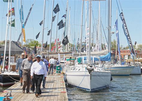 Annapolis Boat Show Parking by Annapolis Sailboat Show 2017