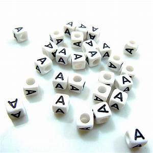 single letter a 200pcs 6mm mixed alphabet cubic letter With alphabet beads individual letters
