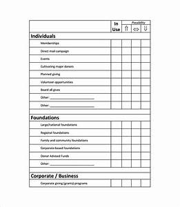 sample fundraising plan 11 documents in word pdf With fundraising strategic plan template