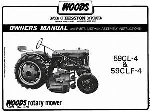 Woods Belly Mower 59cl