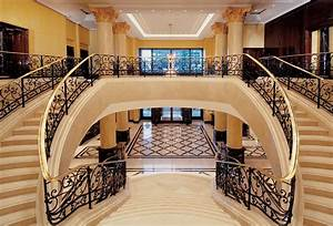 16 awesome mansion staircases perfect for your dream home for Nice plan de maison 150m2 2 villa istanafloor plans villa istana