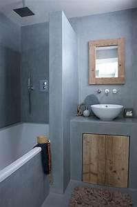 comment amenager une petite salle de bain With salle de bain design avec petit meuble sdb