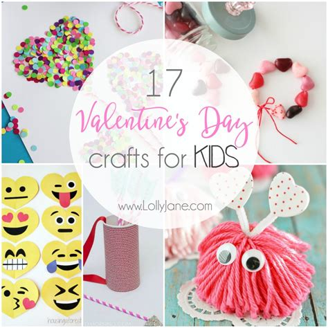 17 Valentine's Day Crafts for Kids - Lolly Jane