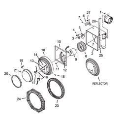 nautilus exhaust fan parts nautilus n712 exhaust fan light 100cfm parts
