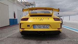 Porsche 911 Gt3 991 2 Manual Gearbox Track Driving And Exhaust Noise