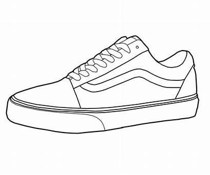 Vans Shoes Drawing Drawings Shoe Sketches Sneakers