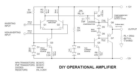 Diy Operational Amplifier